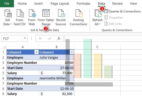 sử dụng Power Query để chuẩn hóa dữ liệu