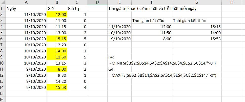 Các hàm mới trong Excel 365 1